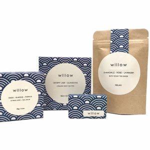willow skincare gift set