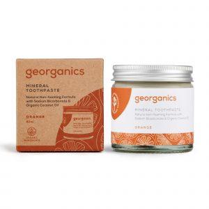 Georganics Mineral Toothpaste - Orange