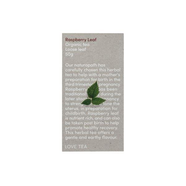 Raspberry Leaf Tea Love Tea