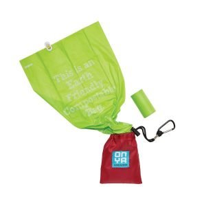 DOG WASTE DISPOSAL BAGS AND CARRY POUCH
