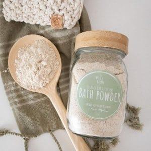 Baby Bath Powder