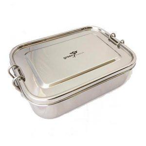 Green Essentials Leak-proof Rectangular lunch boxx